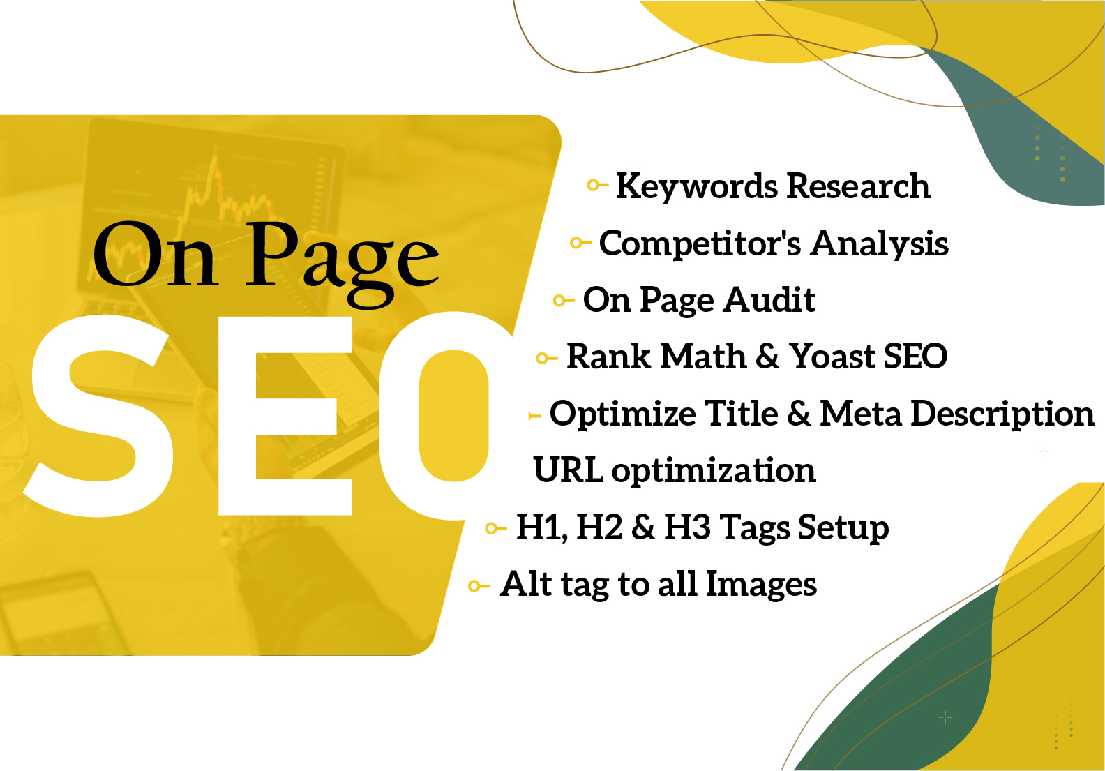 I will do fantastic On Page SEO for quick ranking website in google.