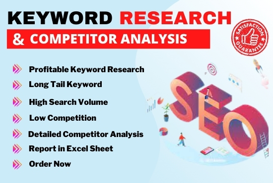 I will do amazing SEO Keyword Research for your Website
