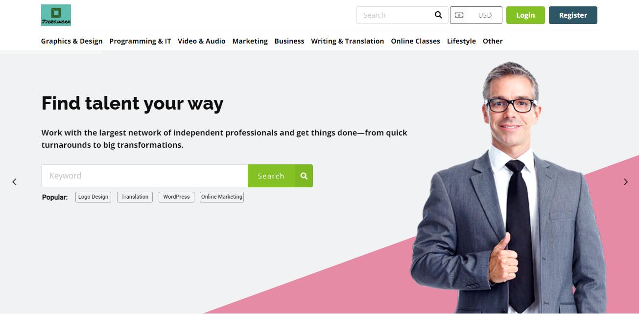 i will create freelance marketplace website