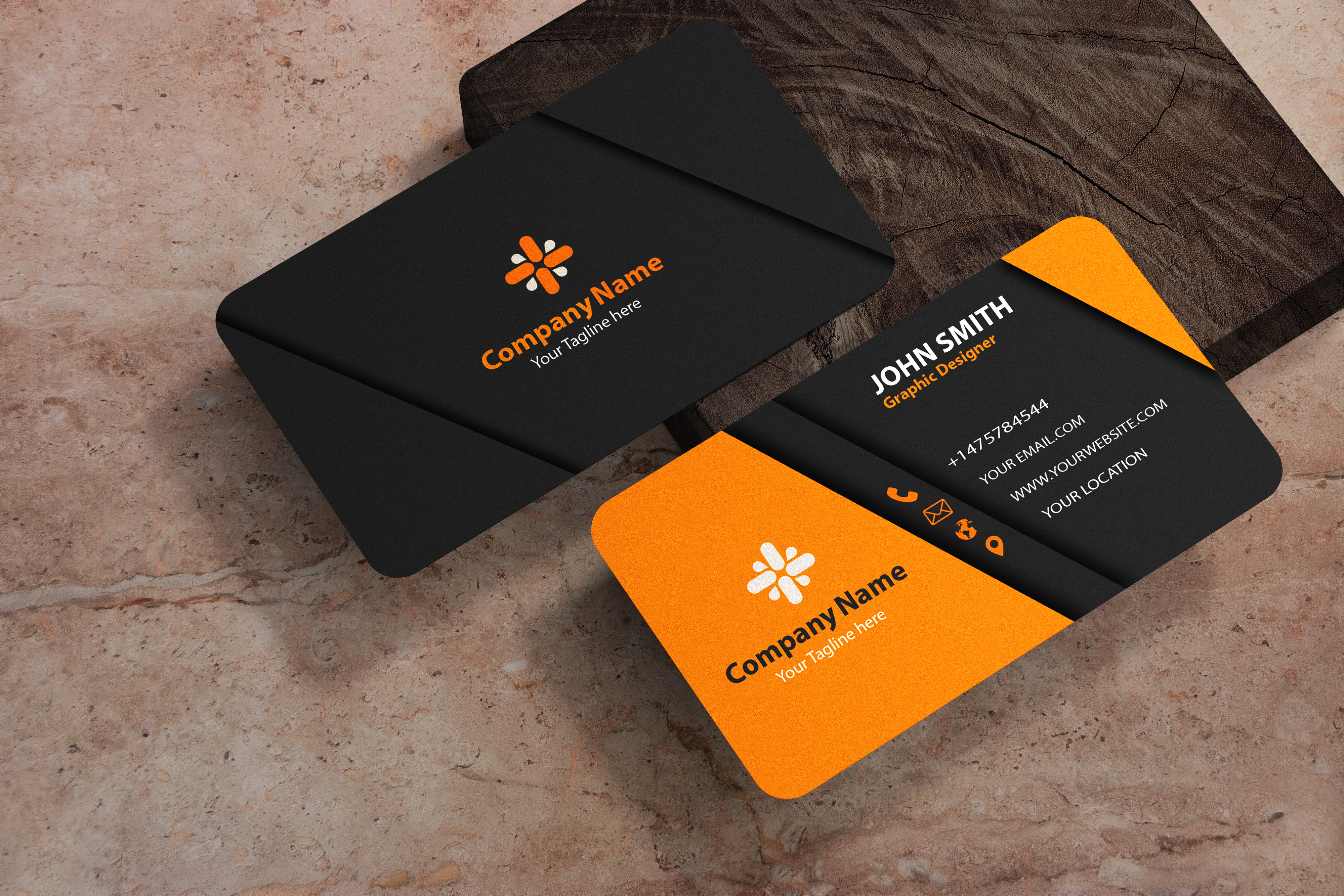 I am expert in minimalist business card design