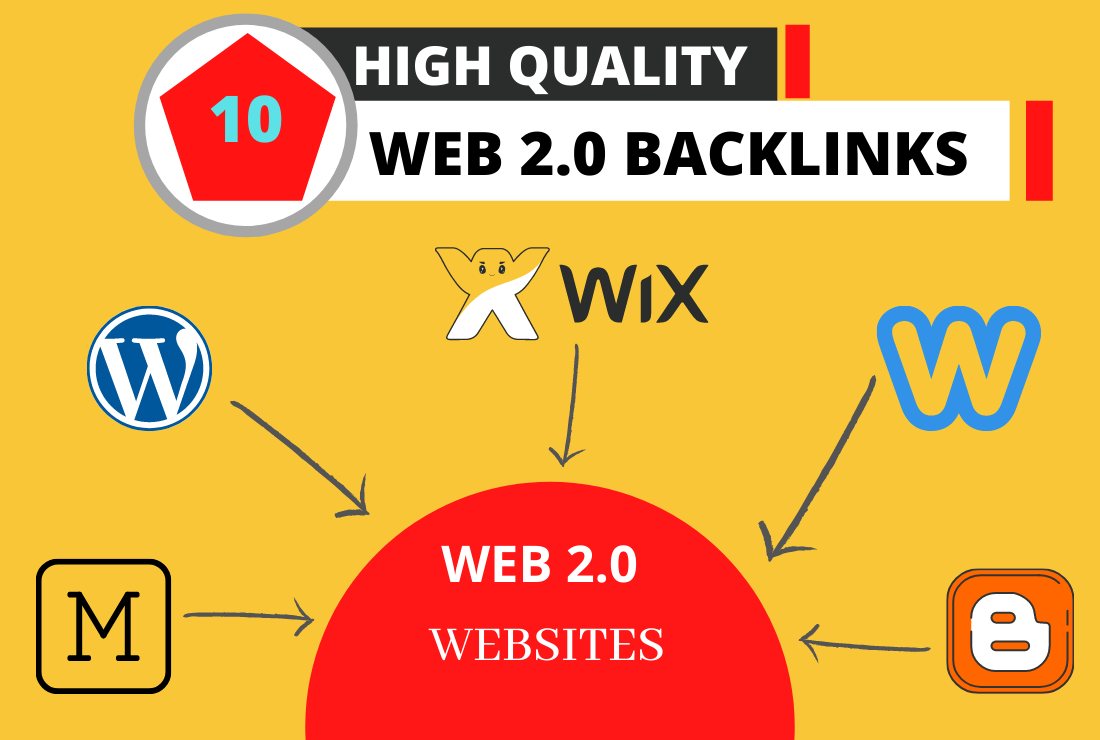 I Will Create 10 High-Quality Web 2.0 backlinks