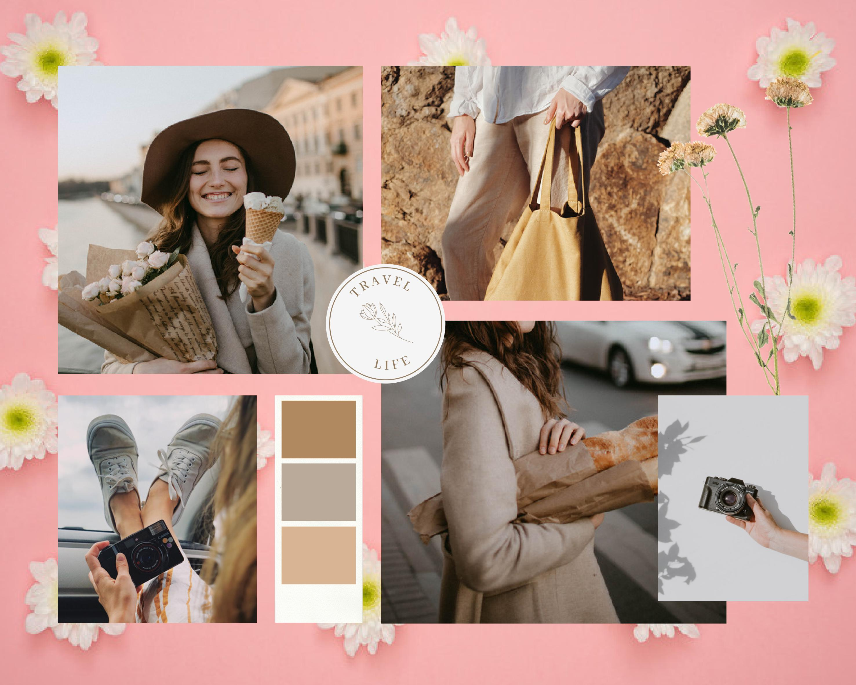 Any design using Canva for your social media