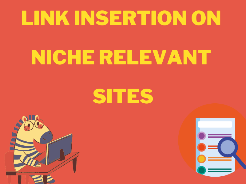 I will do link insertion niche edits on high DA news sites