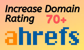 I will increase ahref url rating 70+