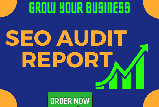 I will provide you an effective SEO audit report and service