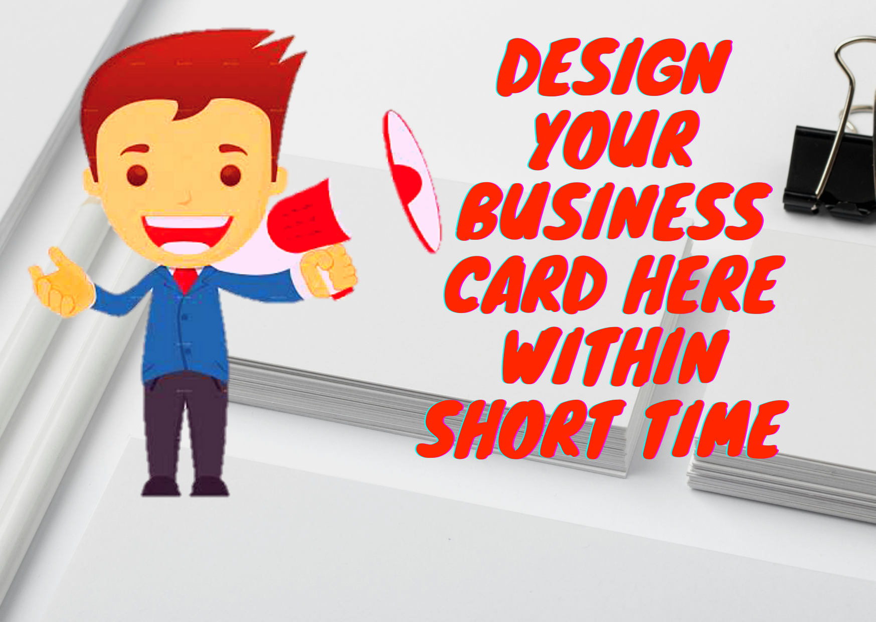 I will design personal business card