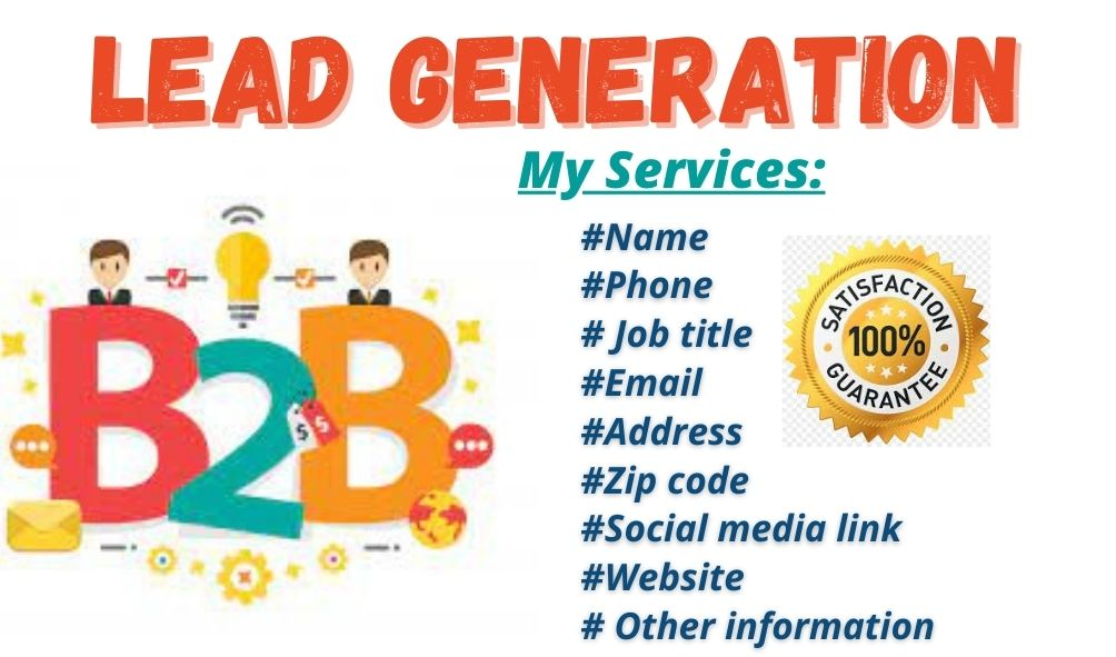 Get Lead Genaration for your business as you demand