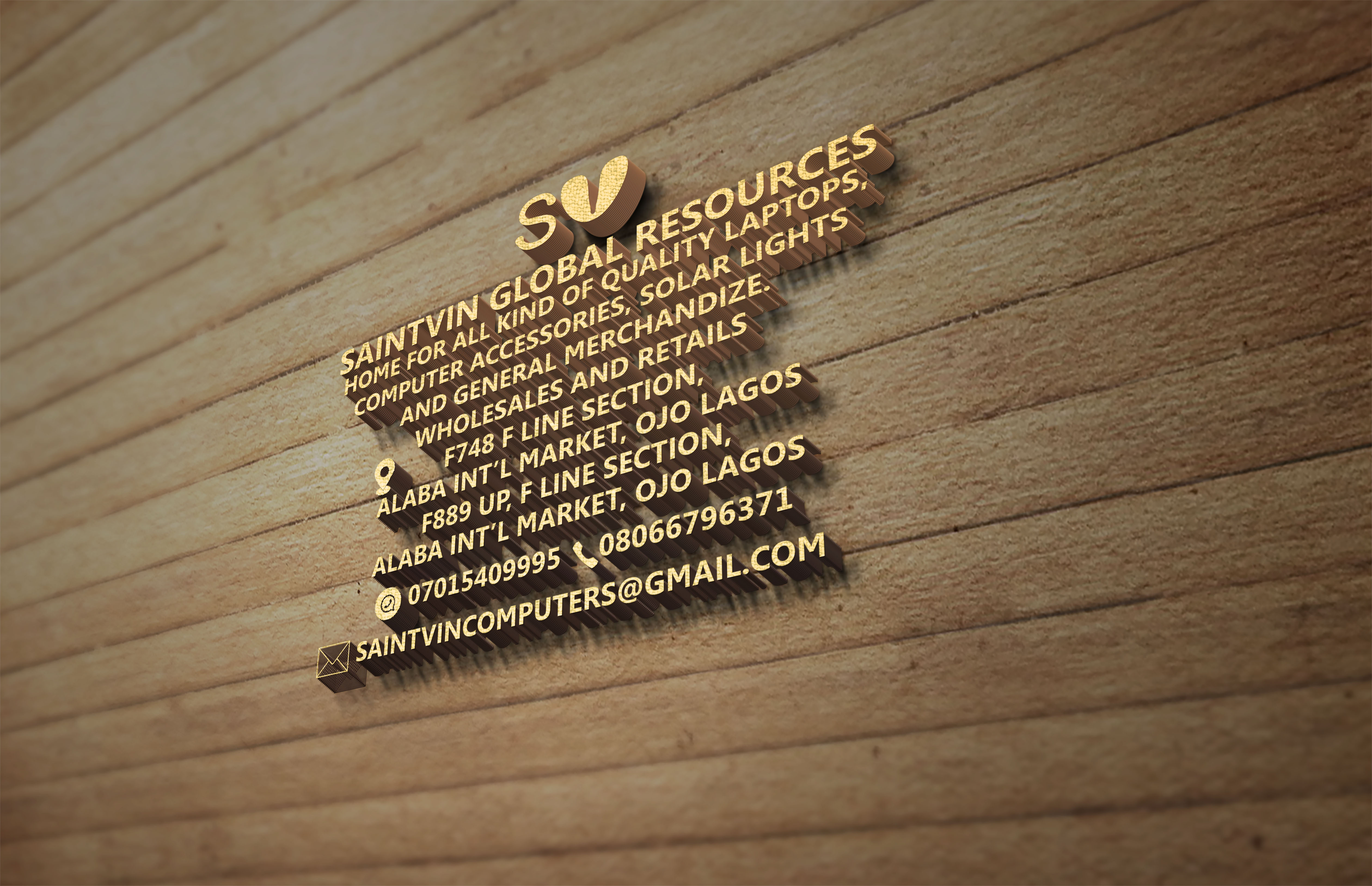 Get your awesome 3D logo for your brand and your business.