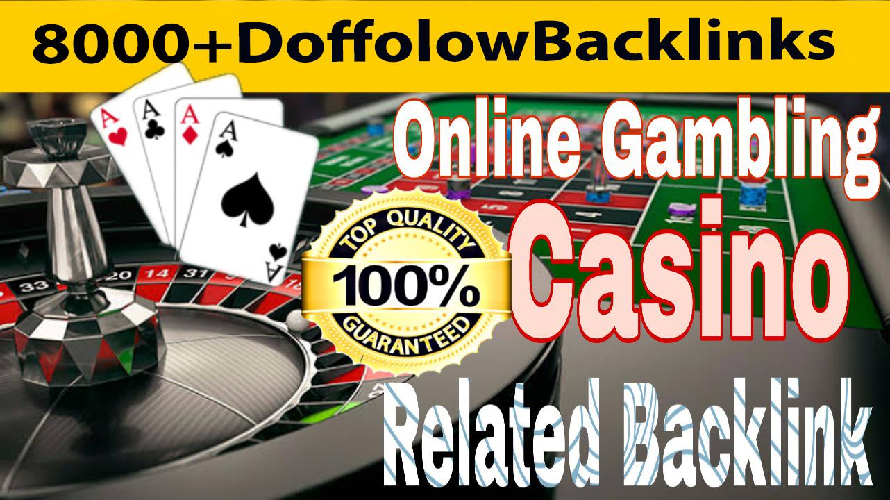 I will do 8000 web 2.0 PBN, Casino, Gambling, Judi,  Doffolow Backlinks