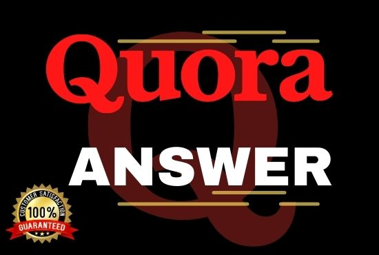I will Promote your website with 20 High Quality Quora answer Backlinks