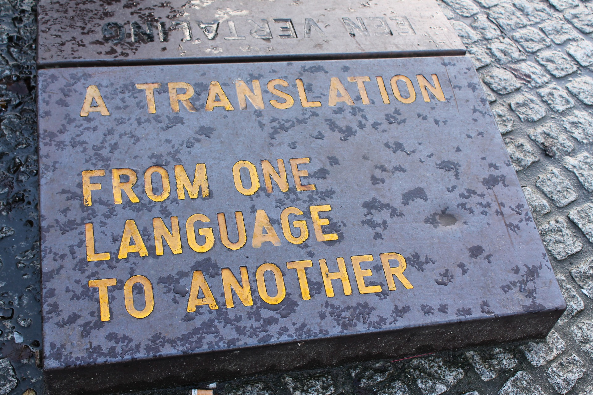 Translate from English to any language