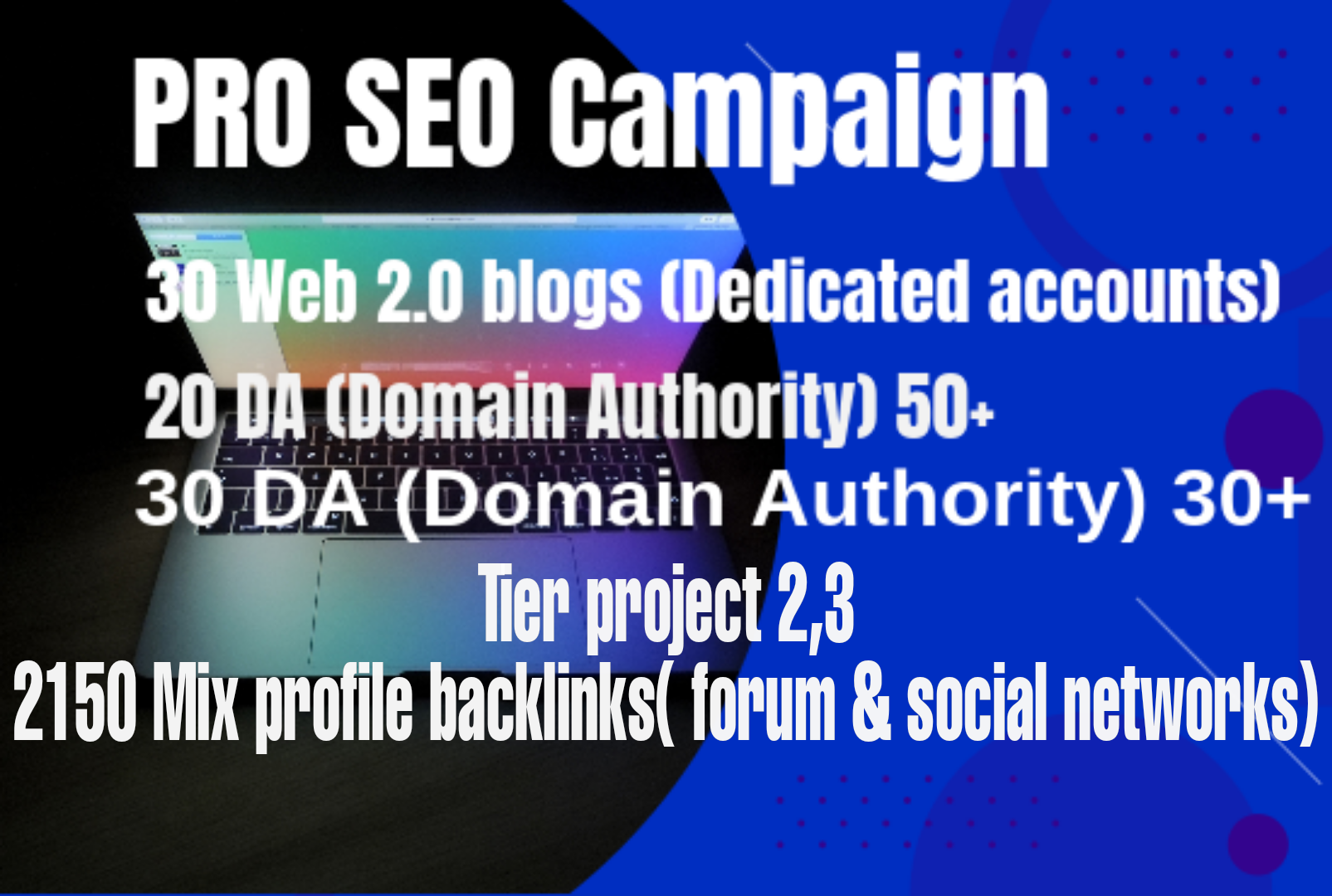 2021 PRO SEO campaign for your website to boost your ranking on google