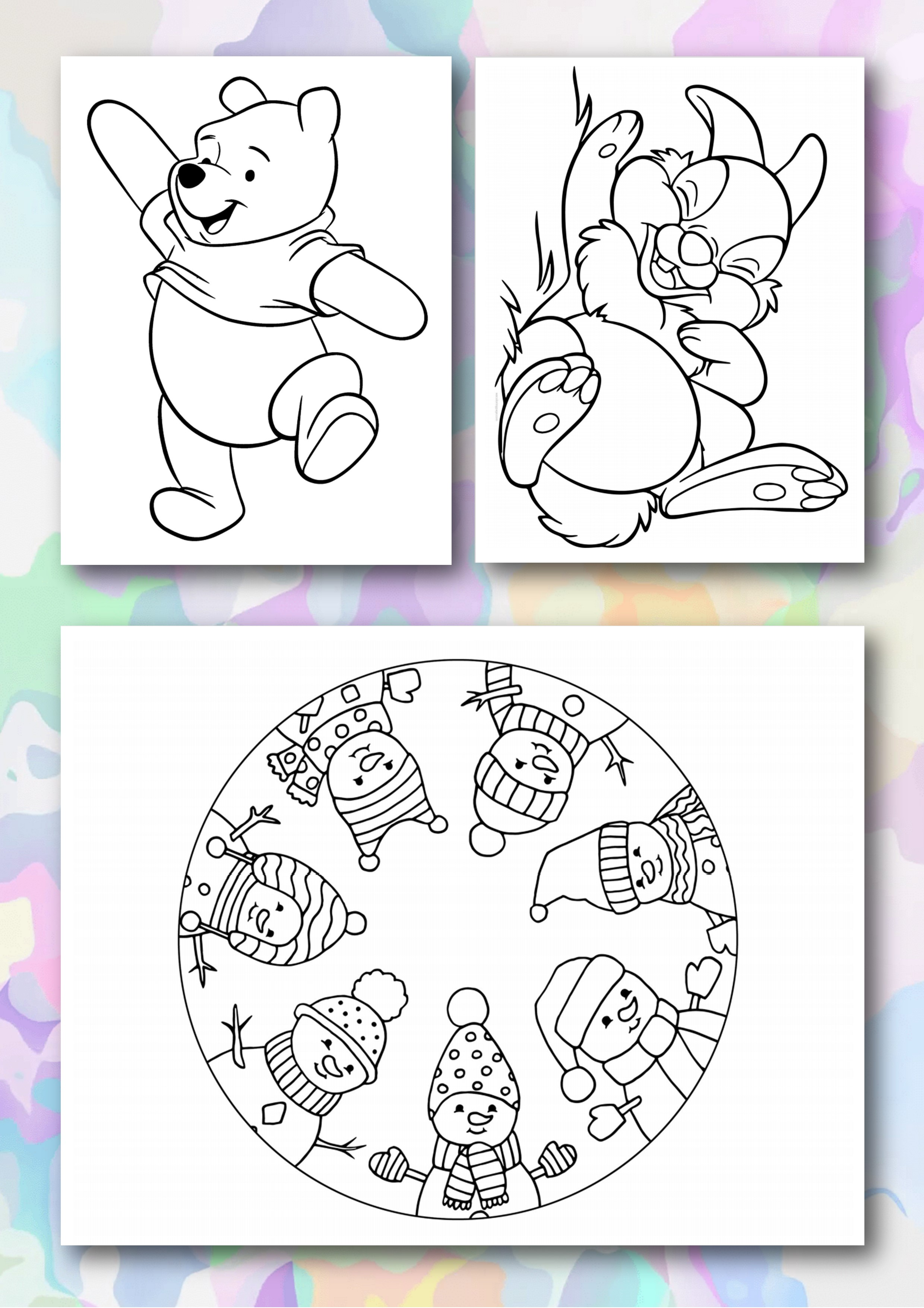 Coloring Books for Children/PDF/Digital Download/Printable