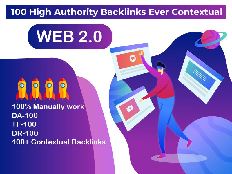 100 High Authority Backlinks Ever Contextual- Boost Your Ranking
