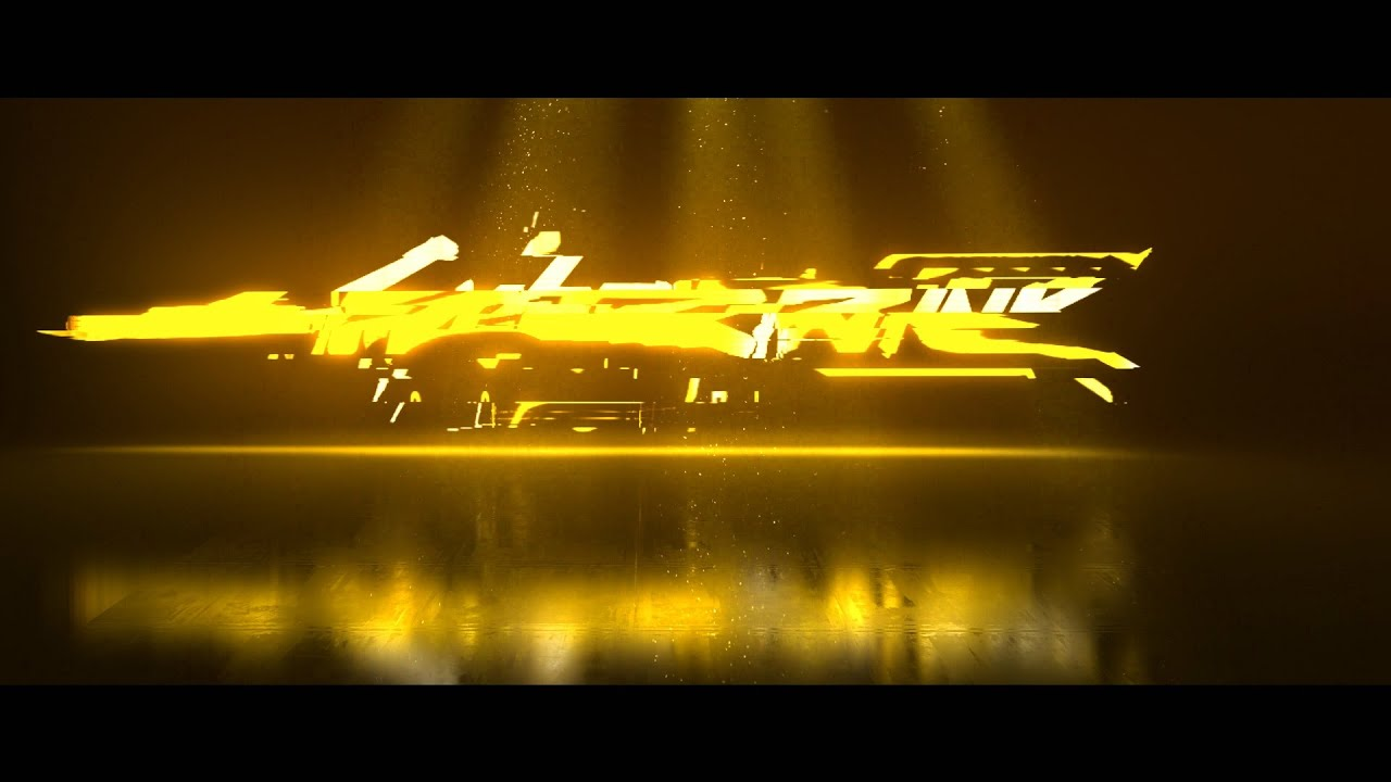 I will create glitch logo reveal intro animation