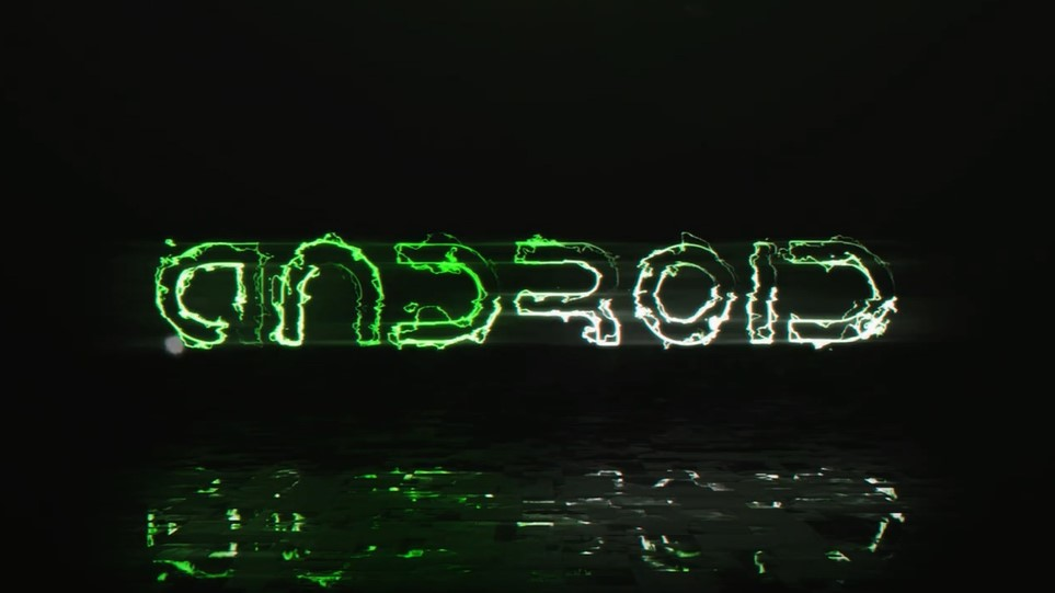 I will create an amazing glitch glossy logo intro animation