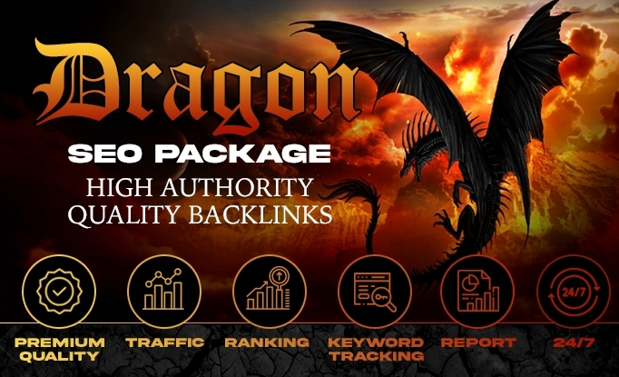 Flat 25 Off- on -High Authority Exclusive Backlinks Dragon SEO Package
