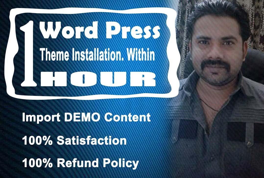 I Will Create SEO Friendly Responsive WordPress Website