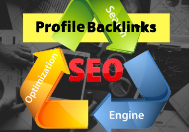 I will profiles backlinks high authority
