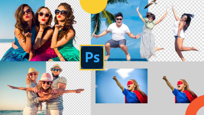 I will 20 photos background remove, photo edit, crop,  retouching, resize in 3 hrs