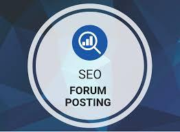 90 dofollow on your forum backlinks posting