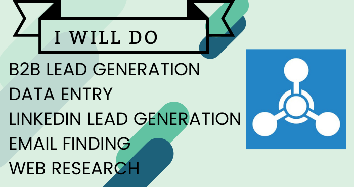 I will do b2b lead generation and build prospect email list