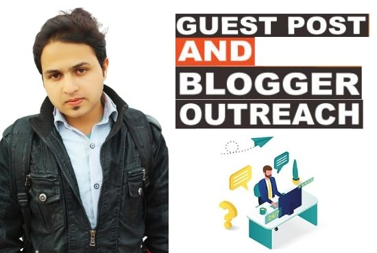Guest post outreach with high DA and backlinks