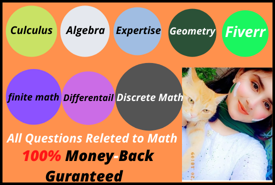 I will be your math,  calculus,  discrete,  integration solver