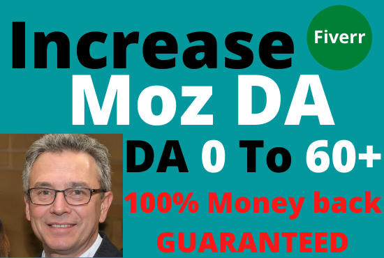 I will increase domain authority up to da 60 plus superfast