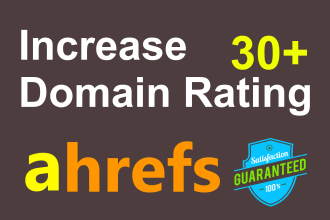 I Will Increase Domain Rating Dr 25 Plus In 30 Days