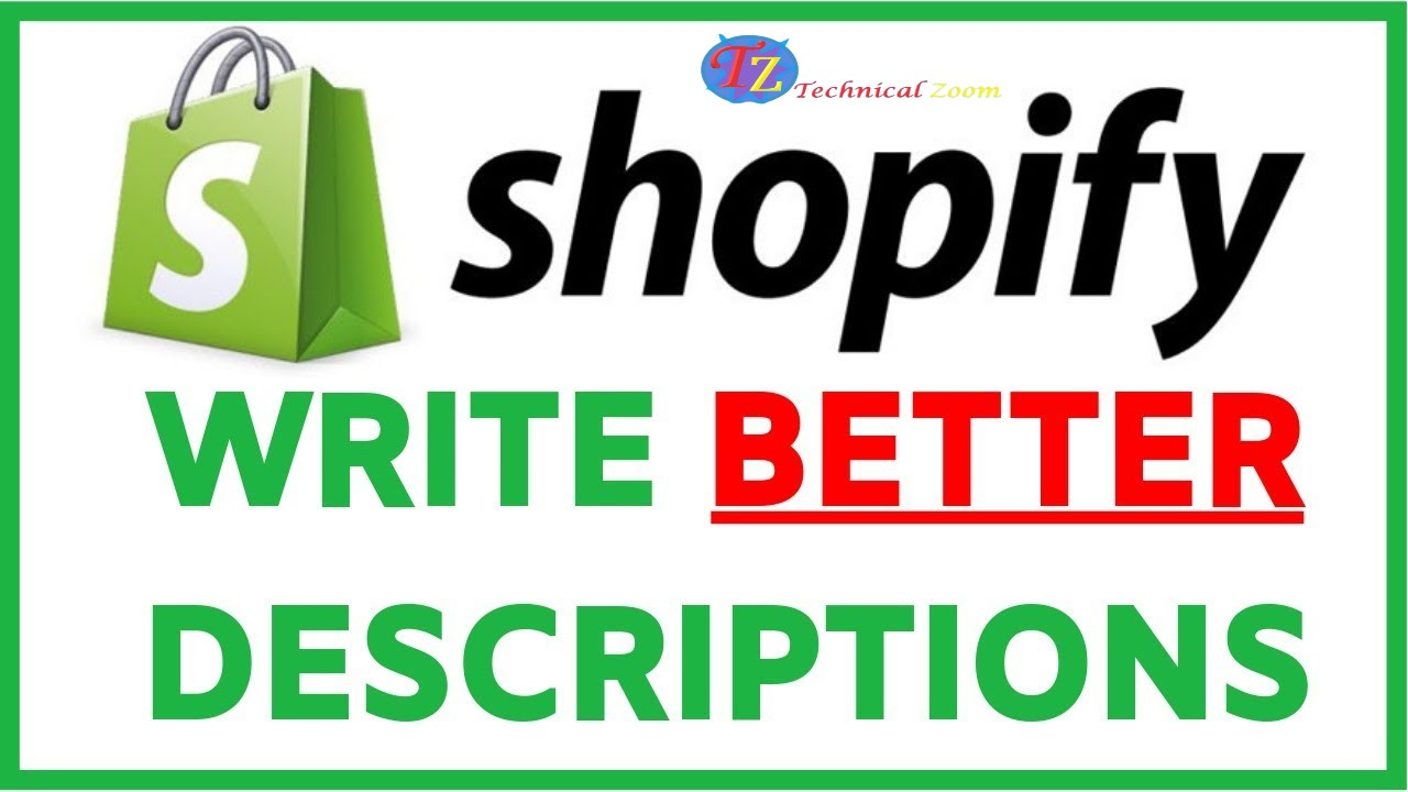 I will write an amazon or shopify product description or listing