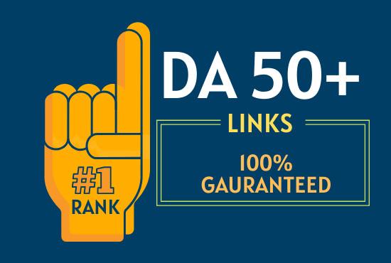 I will provide you 10 high DA50+ PBN backlinks