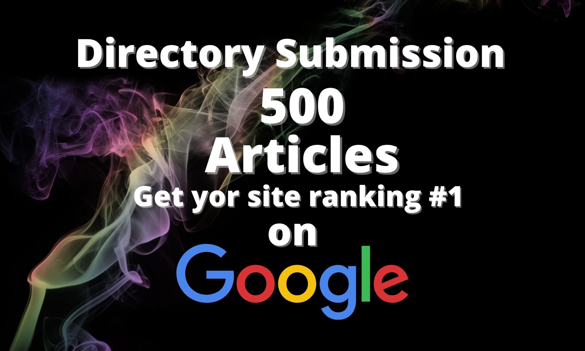 We will submit website to 500 directories
