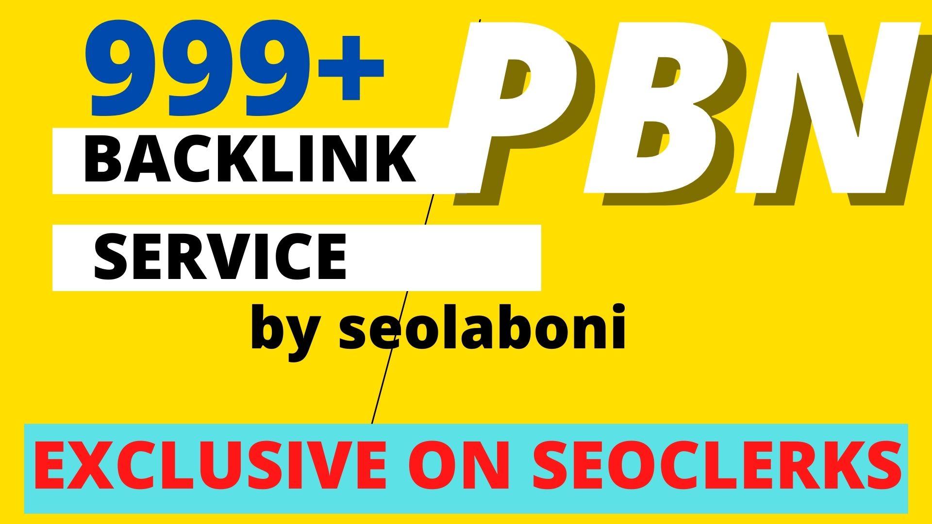 Manual 999+ High PA/DA TF/CF Homepage Dofollow PBN Backlinks