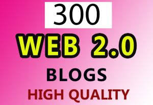 All link free indexing a 300 Web2.0 DA80+ Backlinks With High Domains Finest For Website Positioning