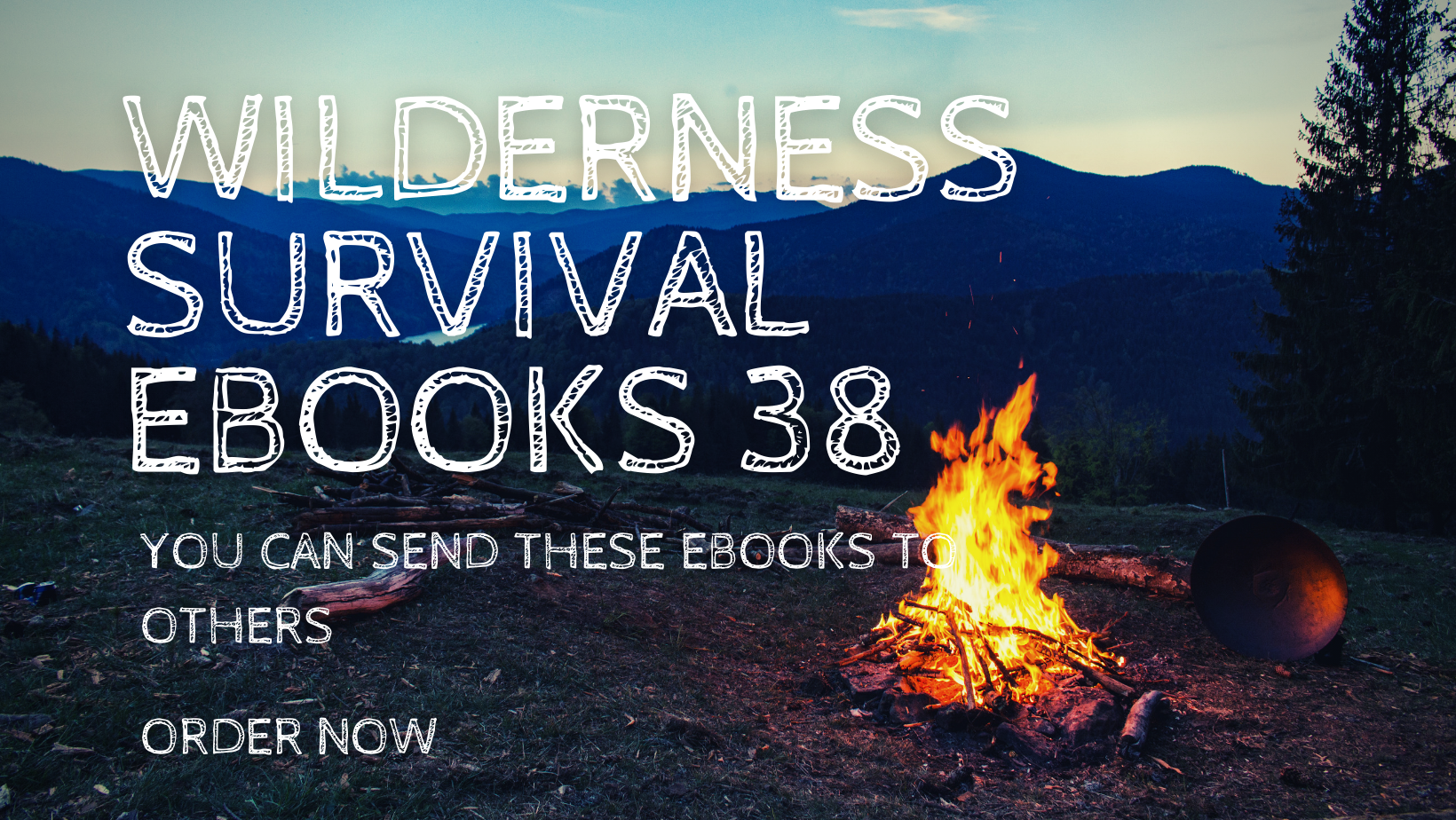 Send you the 38 wilderness outdoor camping survival ebooks