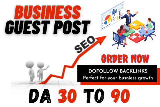 I will publish business guest post on high da business blog with dofollow backlink