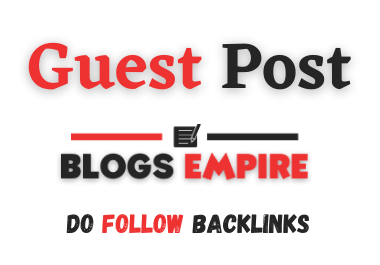 Guest post on blogsempire. com with do follow backlinks