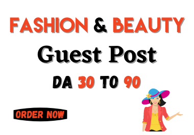 publish fashion and beauty guest post on high da blog
