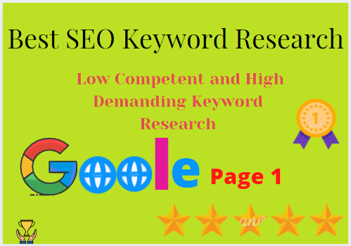 I will do Low Competent and High Demanding Keyword Research for your Business