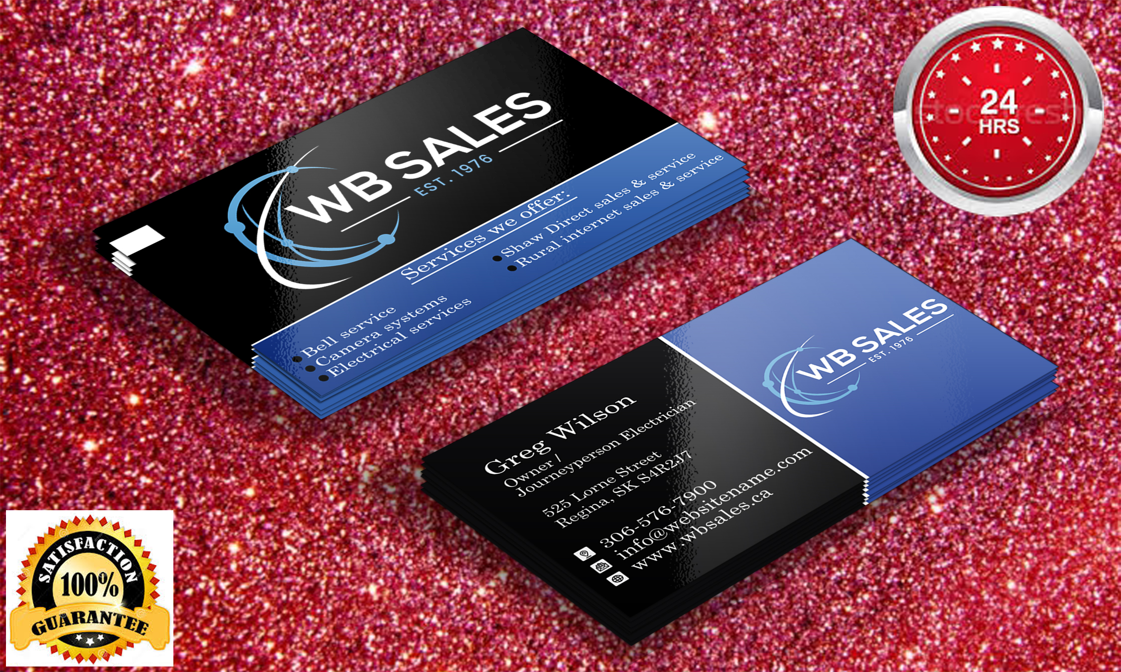 I will provide professional unique business card design service