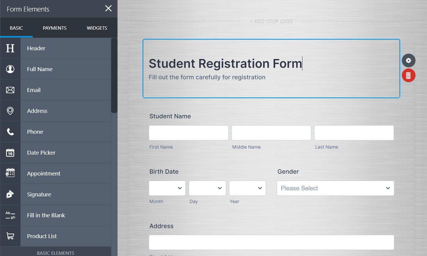 I will create any kind of google form