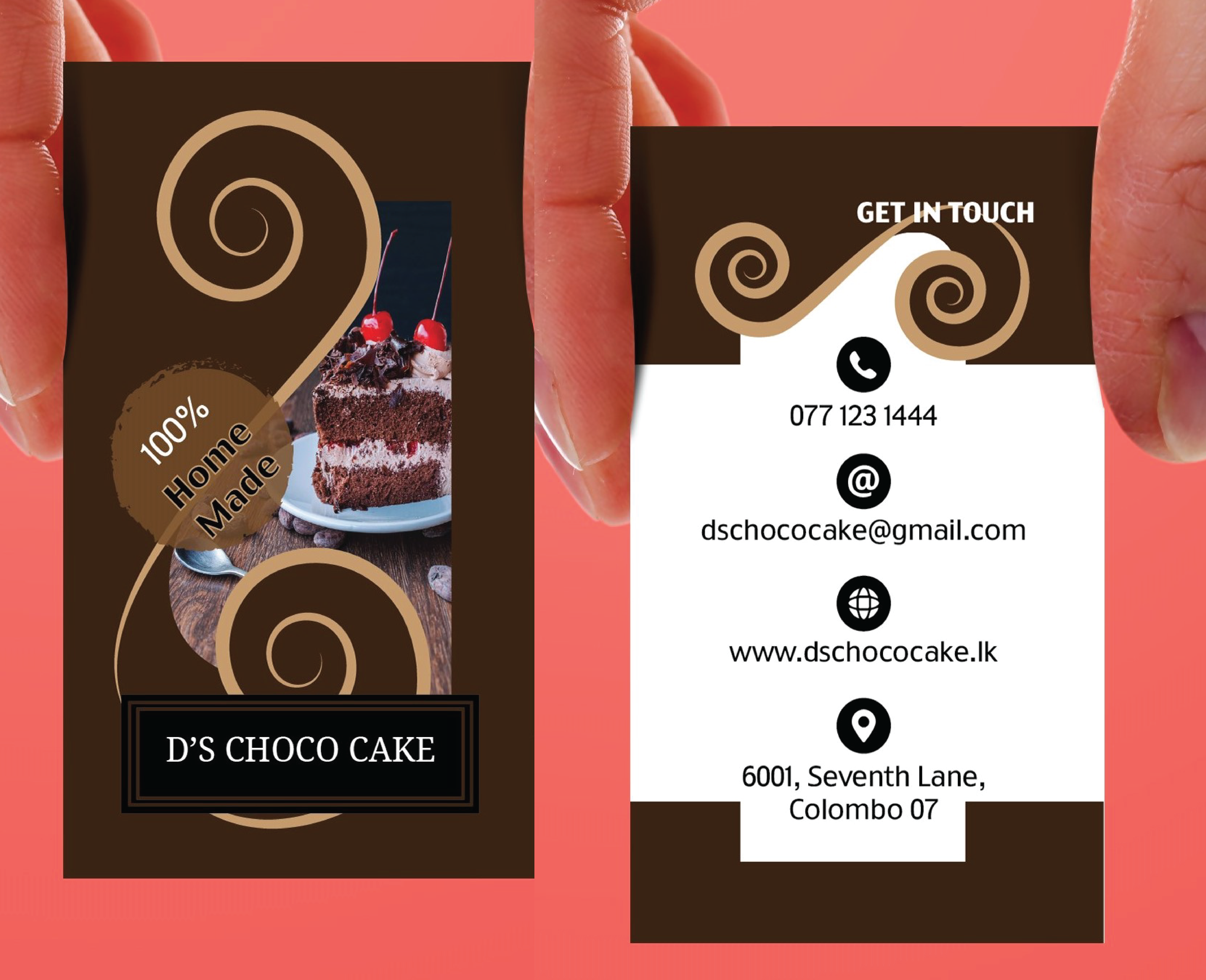 I will create unique business card as you expected