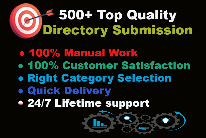 make powerful 100 high quality Directory submission manually,  do-follow SEO backlinks