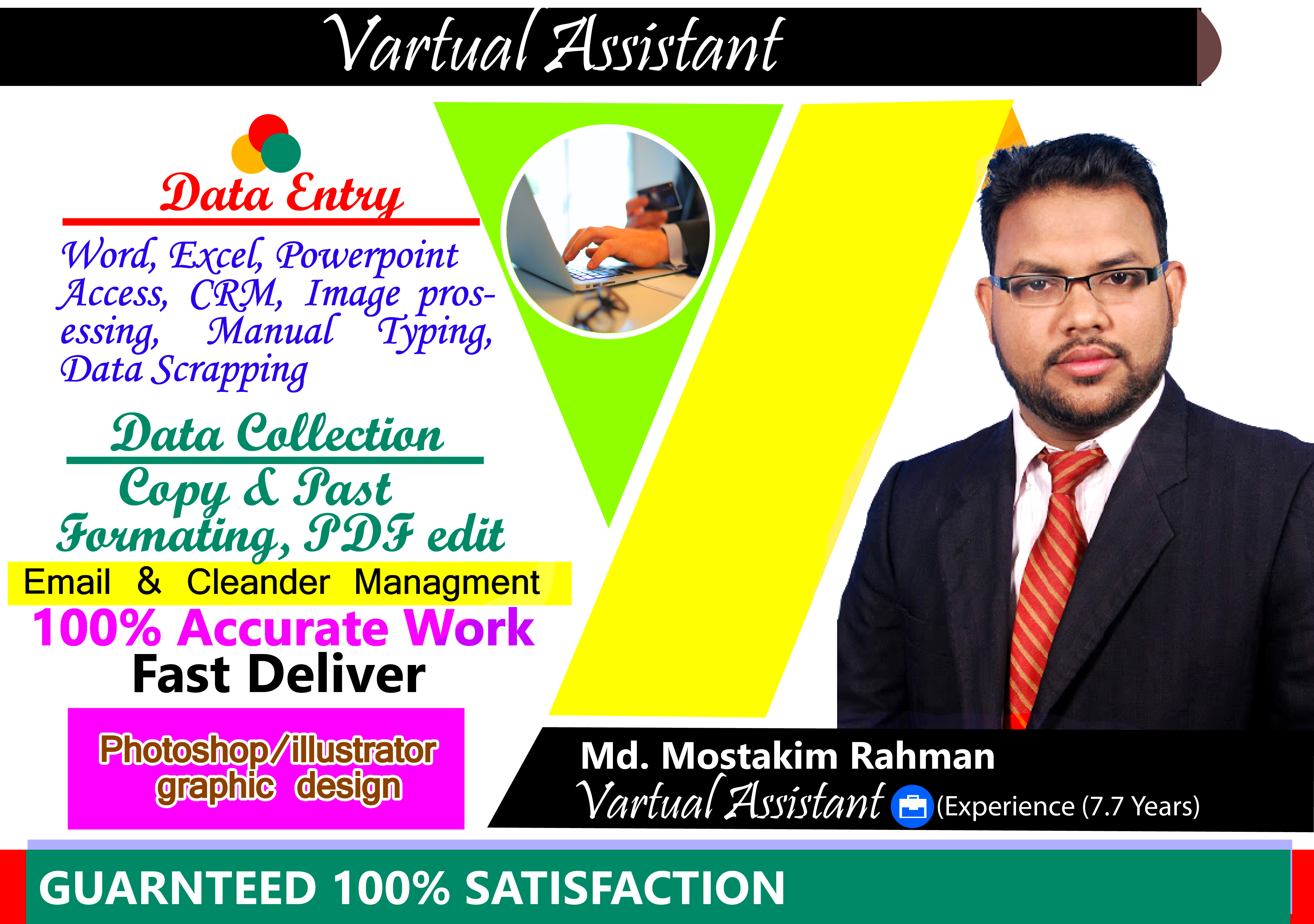 I am Expert in Virtual Assistant.