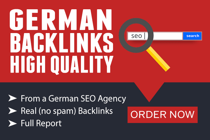 I will provide 30 high quality german backlinks from high authority german sites