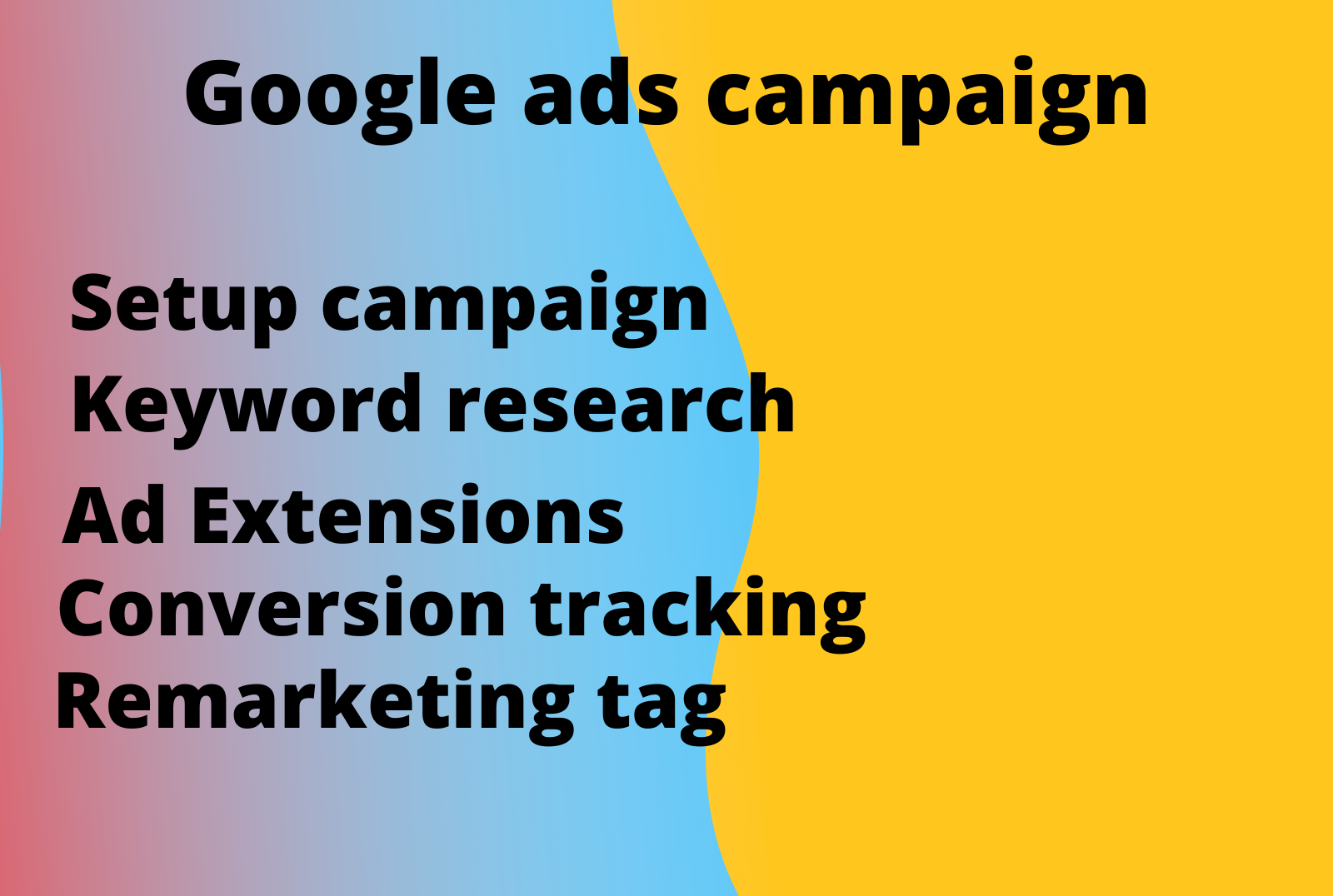 setup and manage google ads ppc campaigns