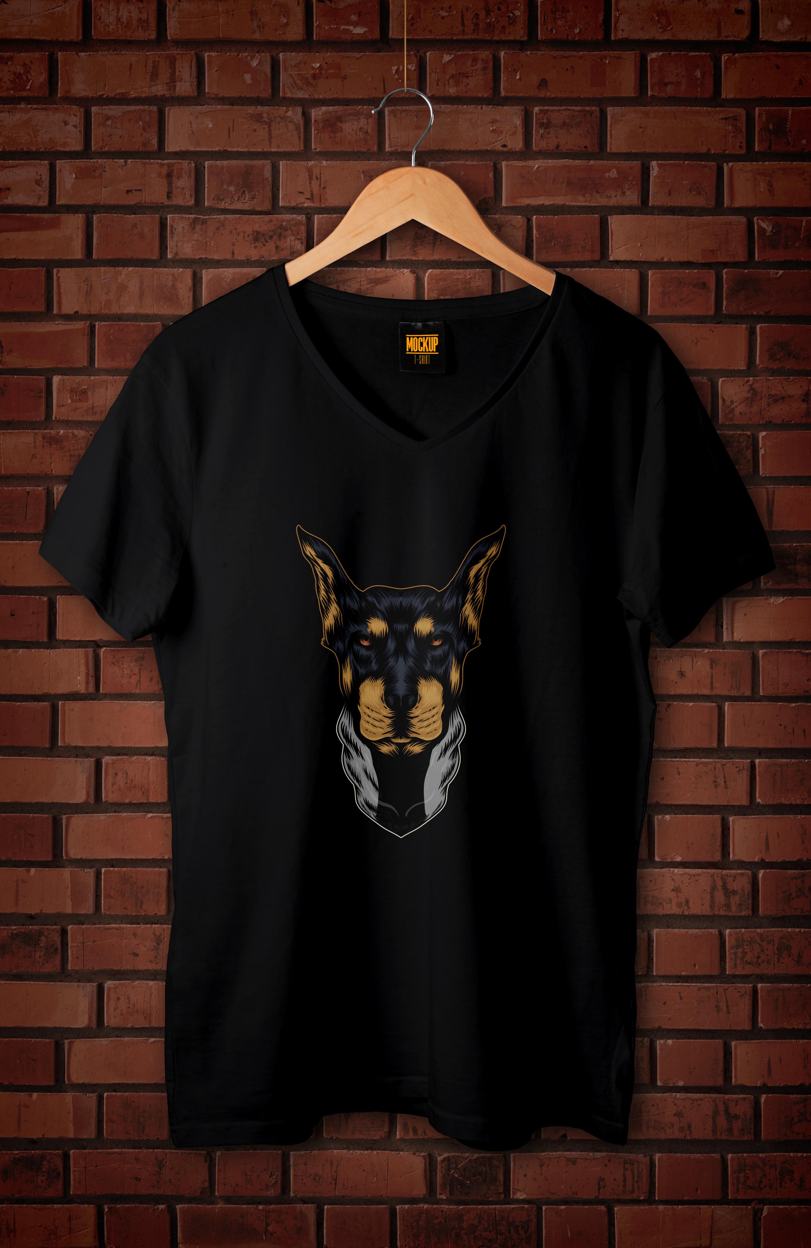 I will make custom and trendy t-shirt design