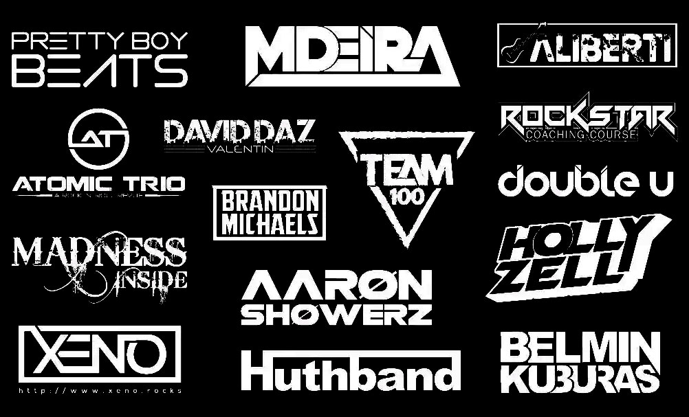 I will do custom or handwritten text logo for your brand,  band,  dj or company