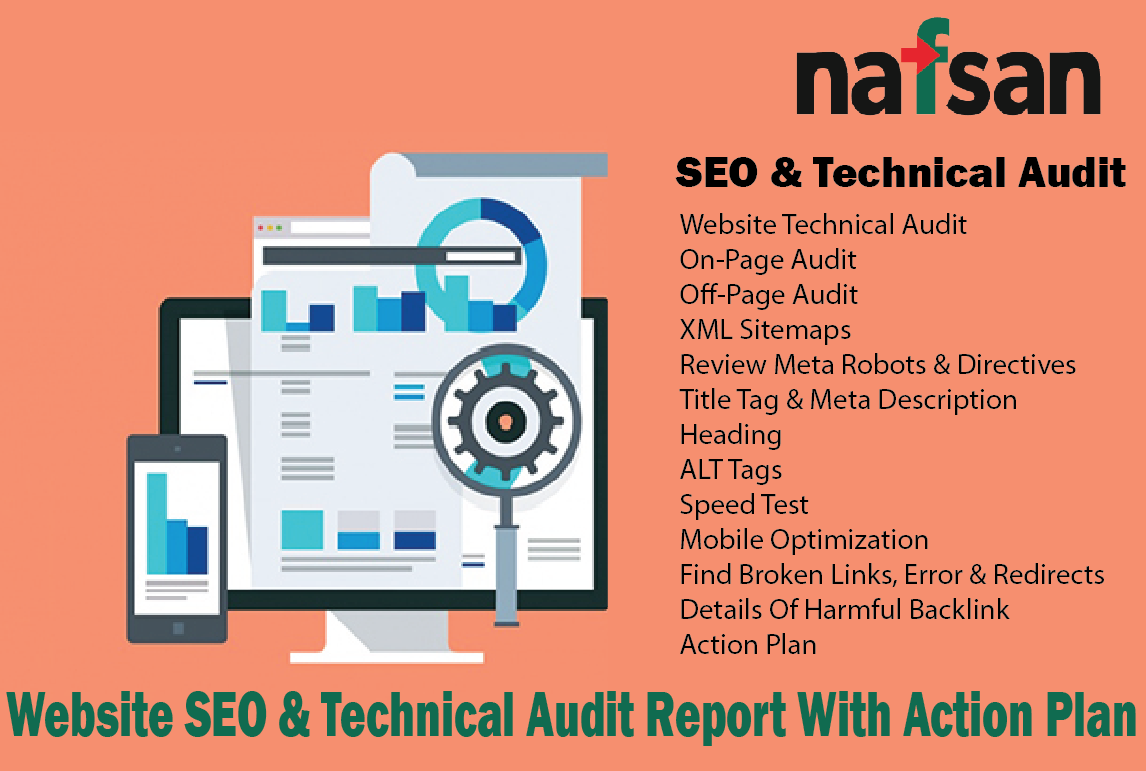 Website SEO & Technical Audit Report With Action Plan